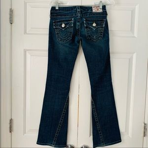 True Religion Jeans - True Religion Flare Leg Jean Slight Distress Sz 25